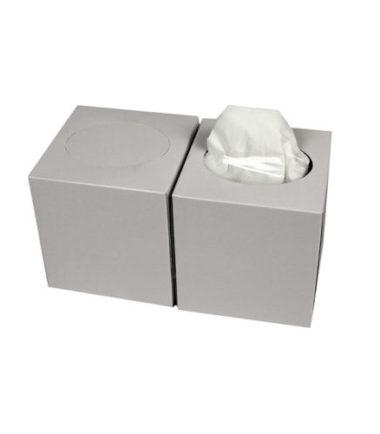 Facial tissue Cube 2 laags 19 x 19 cm