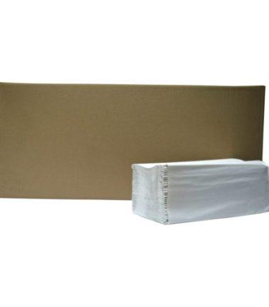 Handdoekjes Z-vouw naturel 1 laags 23 x 25 cm