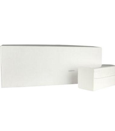 Handdoekjes Z-vouw cellulose 2 laags 23 x 25 cm