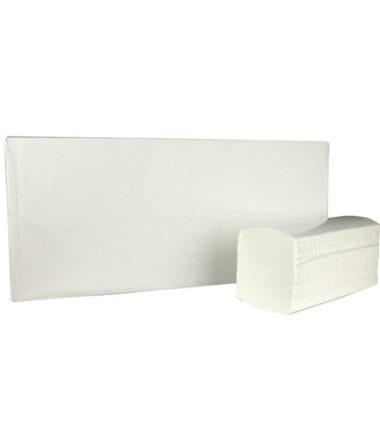 Handdoekjes Interfold cellulose 2 laags 32 x 22 cm
