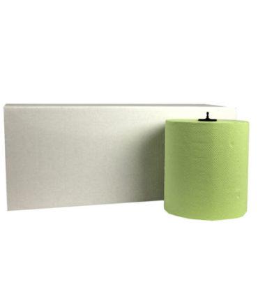Handdoekrol Matic Groen 2 laags 21 cm x 150 meter