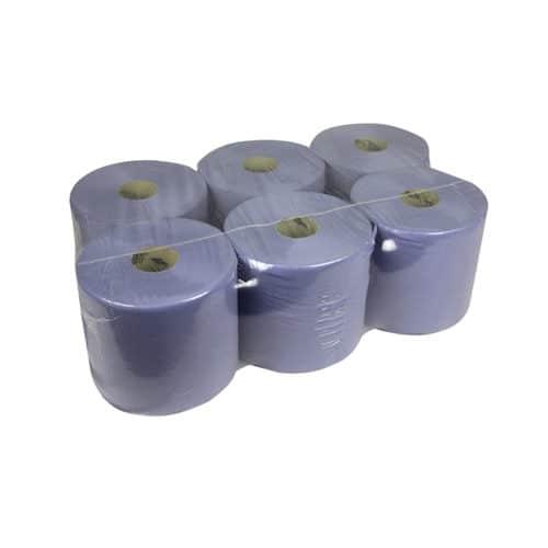 Handdoekrol Midi Blauw 1 laags 9 kg per pak