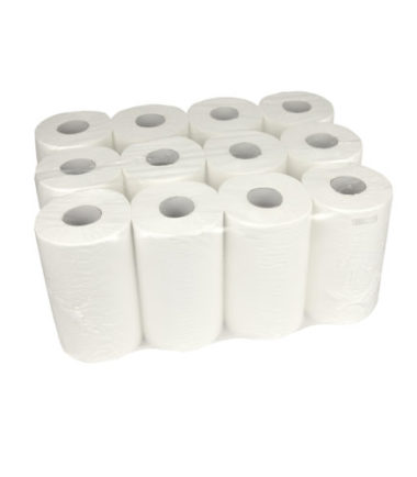 Handdoekrol Mini Cellulose 1 laags 20 cm x 120 meter