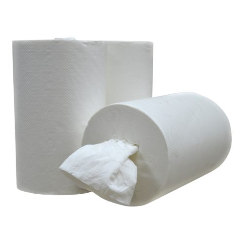 Handdoekrol Mini coreless Cellulose 1 laags 20 cm x 120 meter