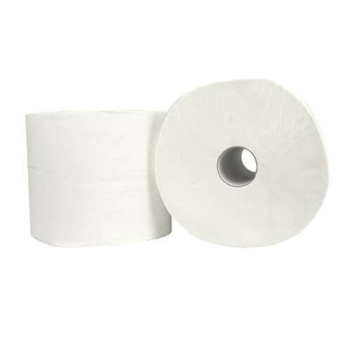 Industrierol verlijmd cellulose 2 laags 26.5 cm x 380 m