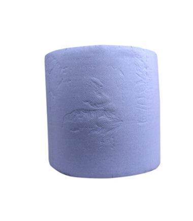 Industrierol verlijmd blauw 3 laags 38 cm x 380 m