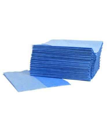 Supertex donkerblauw 29 x 36 cm Z-vouw pluisvrij