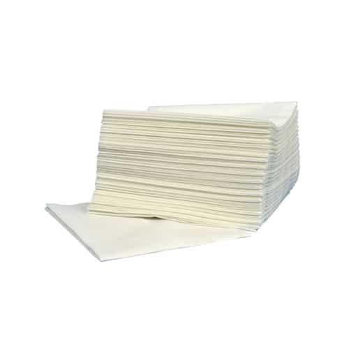 Supertex hoogwit 30 x 36 cm Z-vouw pluis en krasvrij 68 gr/m2