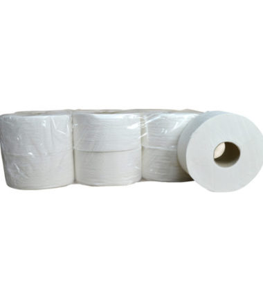 Toiletpapier Mini Jumbo cellulose 2 laags 12 x 180 meter