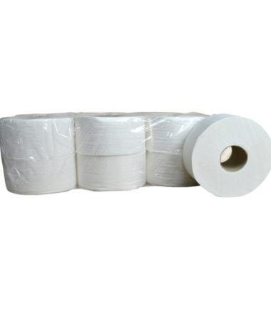 Toiletpapier Mini Jumbo cellulose 2 laags 12 x 180 meter