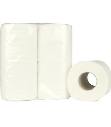 Toiletpapier Traditioneel recycled wit 2 laags 200 vel