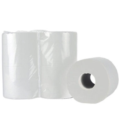 Toiletpapier Traditioneel recycled tissue 2 laags 400 vel