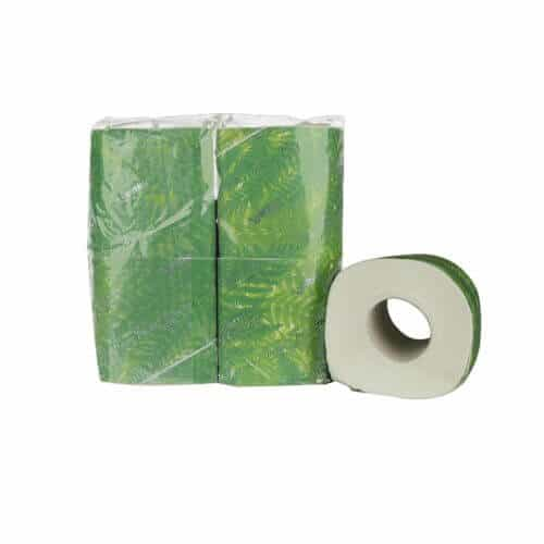 Toiletpapier met bandrol cellulose 2 laags 180 vel