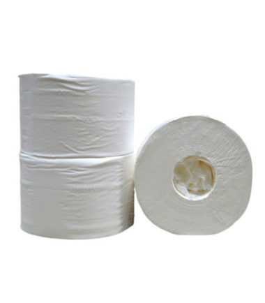 Coreless Mini toiletpapier cellulose 2 laags 13,2 cm 111 meter