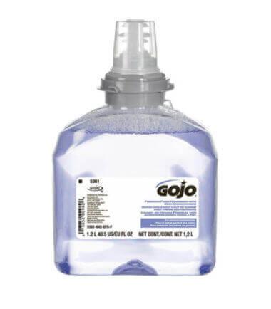 GOJO TFX foam premium handzeep 2 x 1200 ml