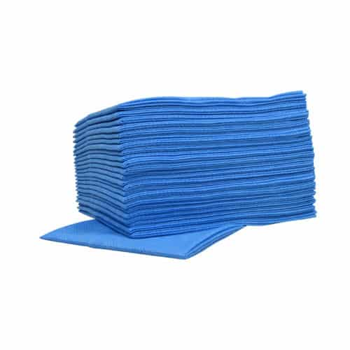 Sopdoeken Nonwoven Blauw 45 x 50 cm