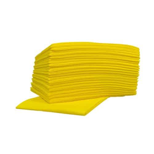 Sopdoeken Nonwoven geel 45 x 50 cm