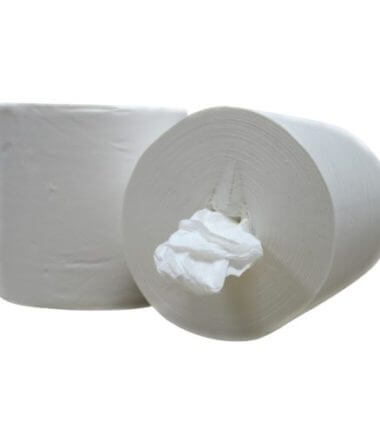 Handdoekrol Midi coreless Cellulose 1 laags 20 cm x 300 meter