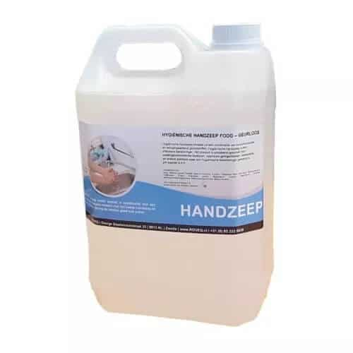 Handzeep hygiënisch FOOD zonder geur- en kleurstoffen 5 liter