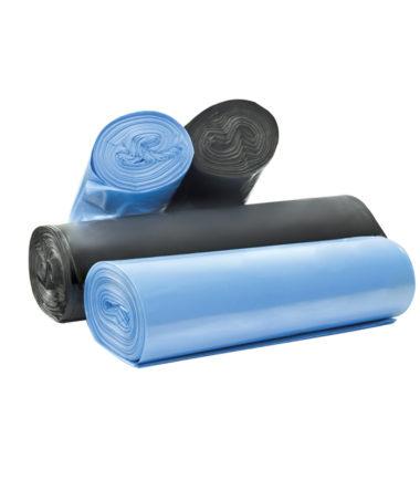 Afvalzakken 90 x 110 cm T25 blauw
