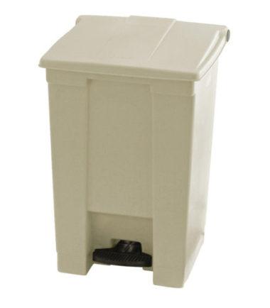 Afvalbak STEP-ON CLASSIC beige 45 liter Rubbermaid
