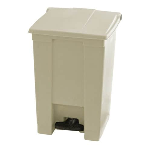 Afvalbak STEP-ON CLASSIC beige 45 liter Rubbermaid