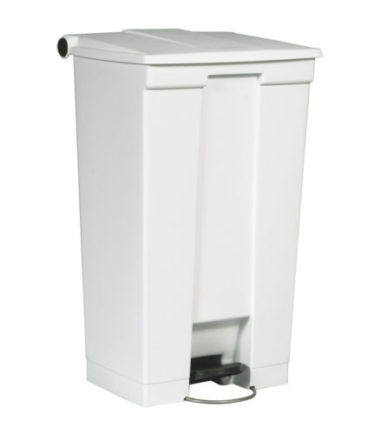 Afvalbak STEP-ON CLASSIC wit 87 liter Rubbermaid
