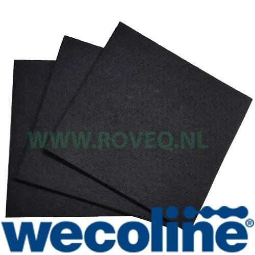 Sopdoeken nonwoven zwart 38 x 40 cm