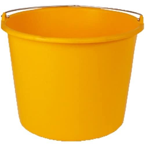 Emmer 12 liter geel