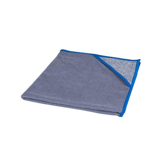 Microvezeldoek met scrubhoek allure blauwe rand 40x40cm