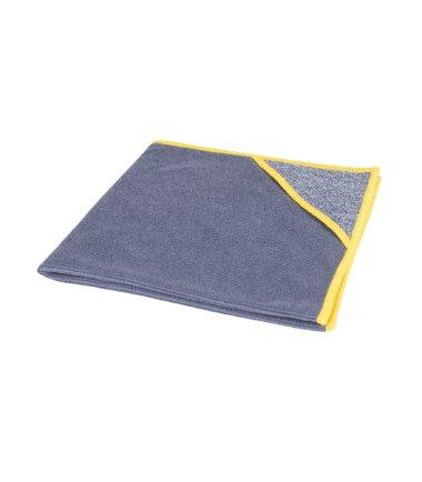 Microvezeldoek met scrubhoek allure gele rand 40x40cm