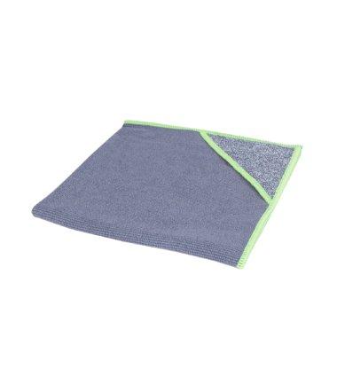 Microvezeldoek met scrubhoek allure groene rand 40x40cm