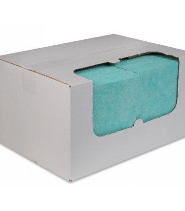 Sopdoeken nonwoven 38x40 groen 100 stuks