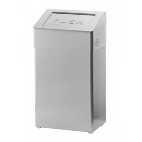 Afvalbak gesloten 18 liter SanTRAL