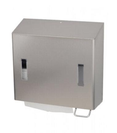 Combinatiedispenser zeep- & handdoekdispenser SanTRAL