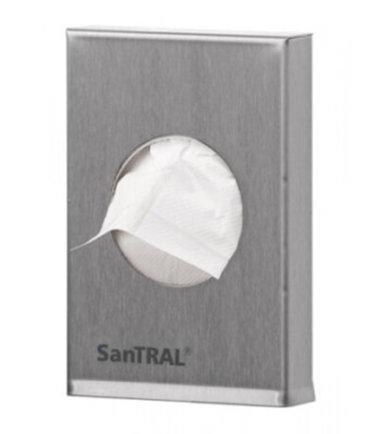 Hygiënezakjeshouder voor plastic hygiënezakjes SanTRAL