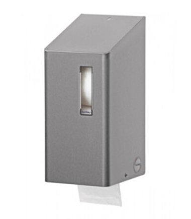 Toiletrolhouder (doprollen) 2rols RVS SanTRAL