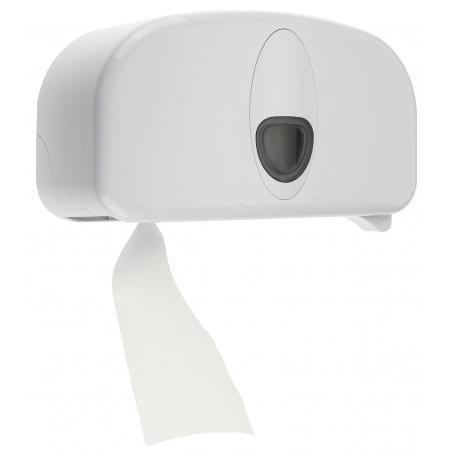 2rolshouder kunststof wit (doprol) ABS kunststof Wit PlastiQline 2020