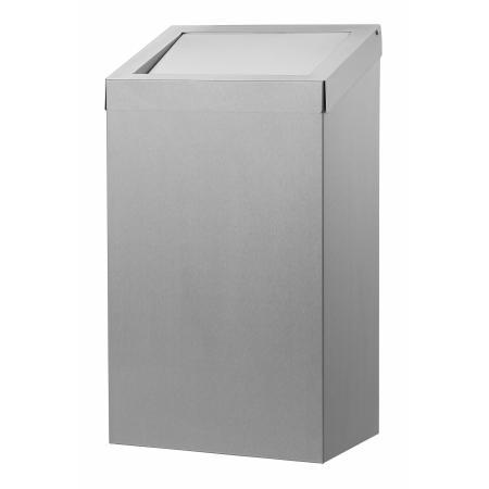 Afvalbak 50 liter RVS RVS - Dutch Bins