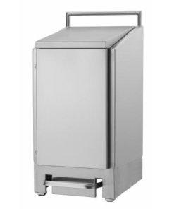 Afvalzakhouder RVS 60 liter RVS (dubbelwandig) - Dutch Bins
