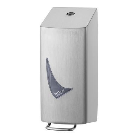Foamzeepdispenser 400 ml RVS anti-fingerprint coating | Met 1 mm gelaste kap - Wings