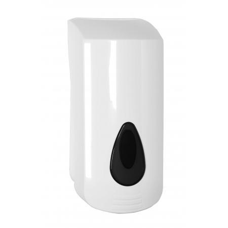Garagezeepdispenser 2000 ml kunststof navulbaar ABS kunststof Wit PlastiQline