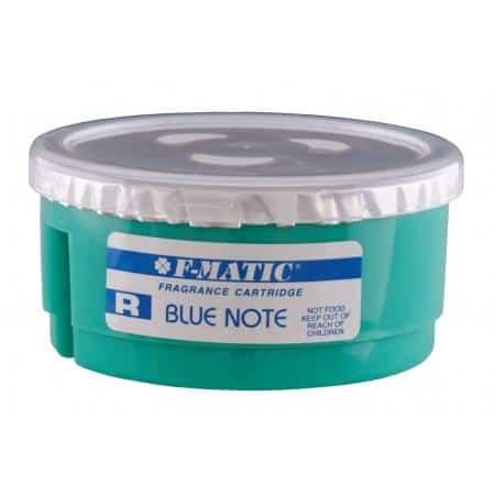 Geurpotje Blue note Gel - natuurlijke geur - Qbic-line