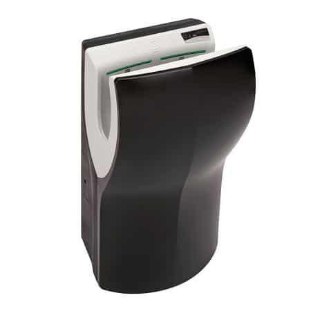 Handendroger hands-in zwart automatisch ABS kunststof Zwart PlastiQline 2020