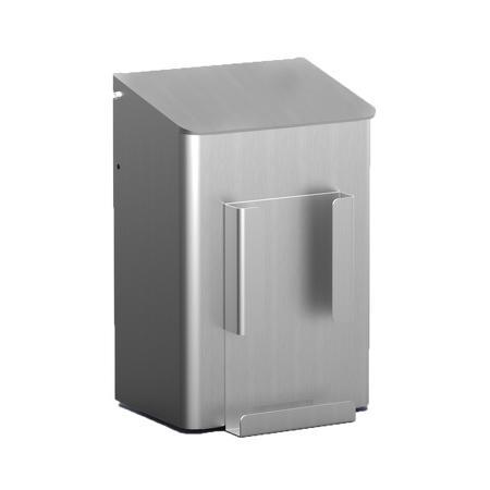 Hygiënebak 6 liter aluminium Aluminium