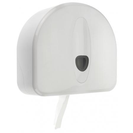 Jumboroldispenser mini  + restrol kunststof wit ABS kunststof Wit PlastiQline 2020