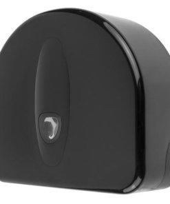 Jumboroldispenser mini  + restrol kunststof zwart ABS kunststof Zwart PlastiQline 2020