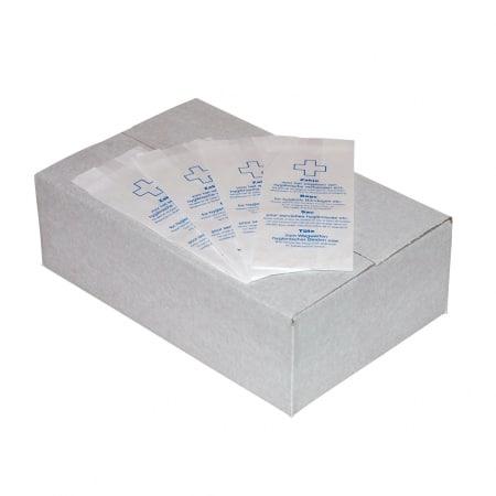 Papieren hygiënezakjes Papier Wit MediQo-line