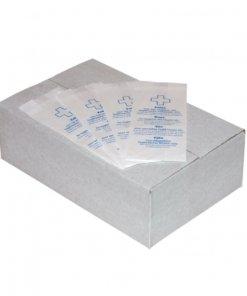 Papieren hygiënezakjes Papier Wit PlastiQline Exclusive