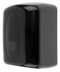 Poetsroldispenser midi kunststof zwart ABS kunststof Zwart PlastiQline 2020